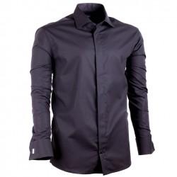 Černá pánská košile Assante rovná 30150
