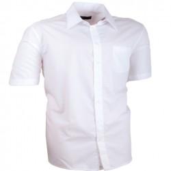 61b4622414e Nadměrná košile bílá 100 % bavlna non iron Assante 41012