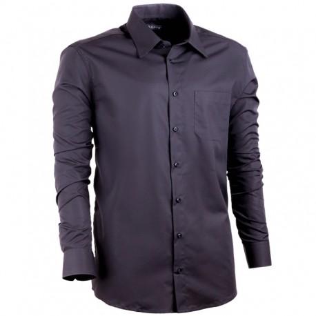 1e637934566 Černá nadměrná pánská košile non iron rovná Assante 31025