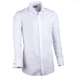 Bílá pánská košile Assante vypasovaná 30025