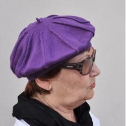 Fialová dámská čepice Anytra 83209