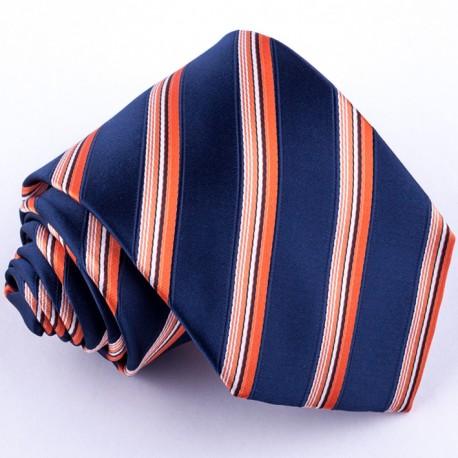 Pánská oranžová kravata Greg 97024