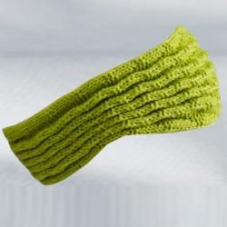 Zelená pletená čepice zimní Pletex 88231