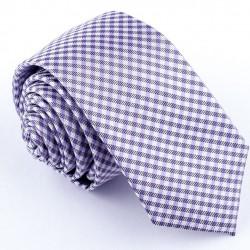 Slim modrá kravata Greg 99613