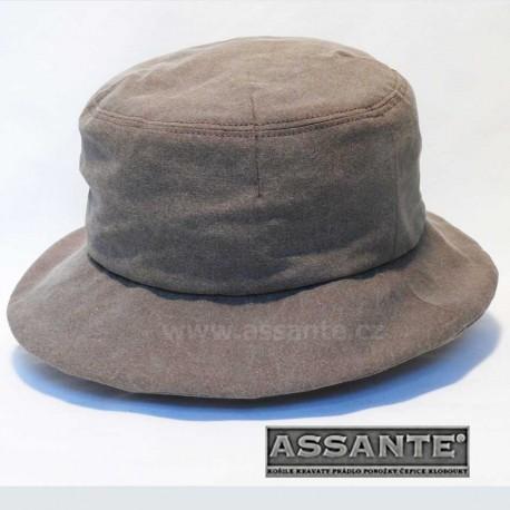 d03ca080a Hnědý elegantní dámský klobouk Assante 82919