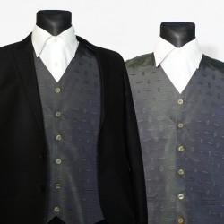 Zelená pánská vesta společenská Assante 90664 52d0f9ef32