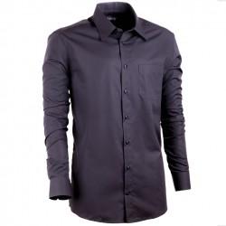 Černá pánská košile Assante vypasovaná 30108
