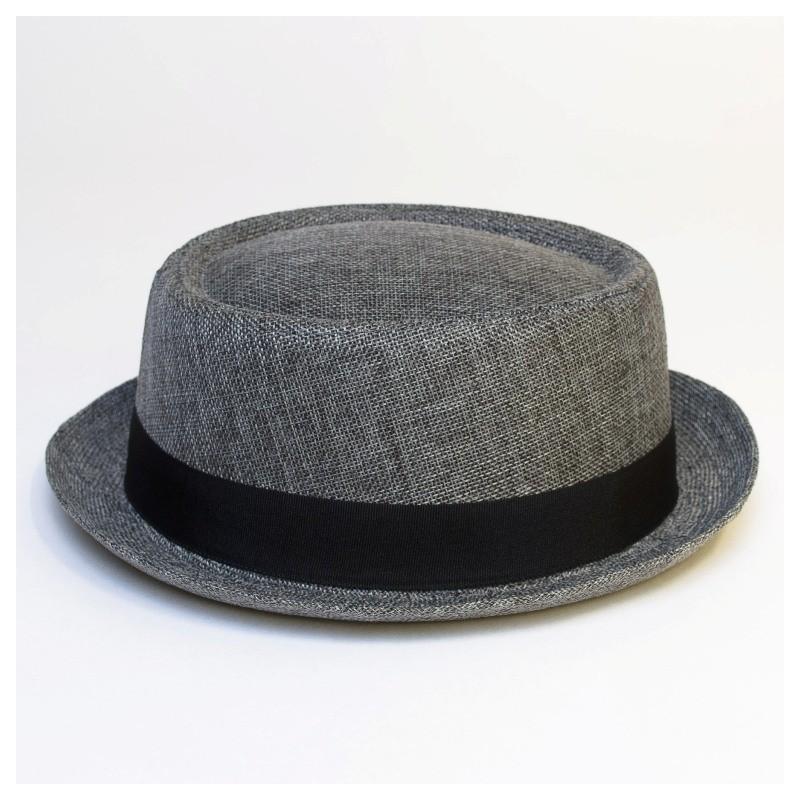 Letní lehký klobouk Giftfree šedý 161018 8729168a23