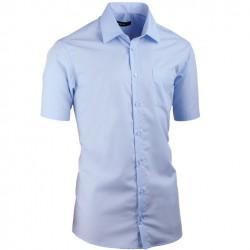 Modrá pánská košile Assante vypasovaná 40414
