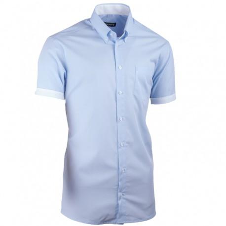 a3d13a54ac5 Modrá košile vypasovaná Assante 40416