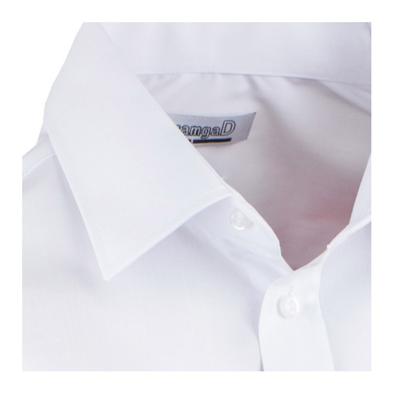 8e79e4be0b89 ... Bílá pánská košile s dlouhým rukávem slim fit Aramgad 30080 ...