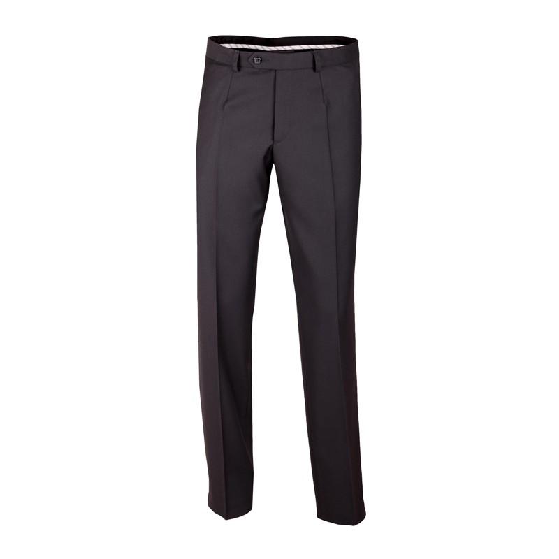 900f19190ac Extra prodloužené pánské černé kalhoty společenské na výšku 188 – 194 cm  Assante 60503 ...