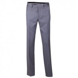 Šedé pánské společenské kalhoty na výšku 176 – 182 cm Assante 60511