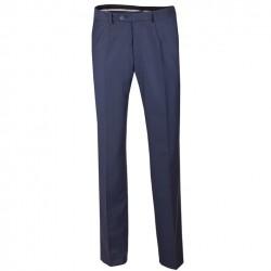 Prodloužené pánské společenské kalhoty modré na výšku 182 – 188 cm Assante 60522