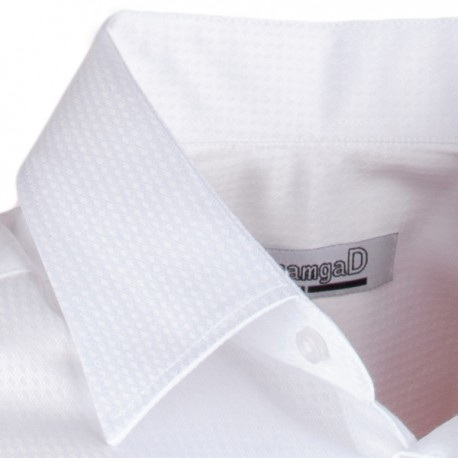 Pánská svatební košile bílá vypasovaná slim fit Aramgad 30046 4125794cb5