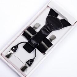 Luxusní kšandy kožená poutka Assante 90029