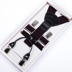 Luxusní kšandy kožená poutka Assante 90047