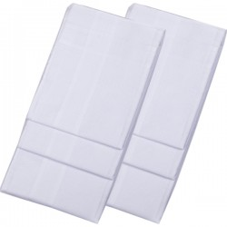 Bílé pánské kapesníky 40x40cm balení 6 ks Etex 90604