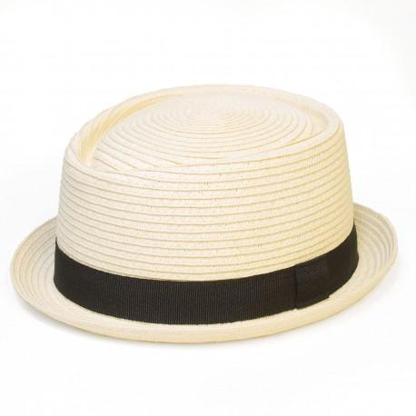 Letní klobouk barva smetanová Assante 161245