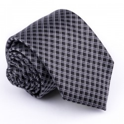 Šedá kravata Greg 91217