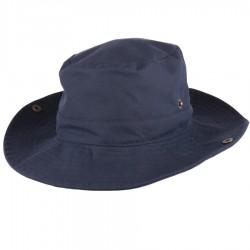 Pánský modrý nepromokavý klobouk Assante 81041