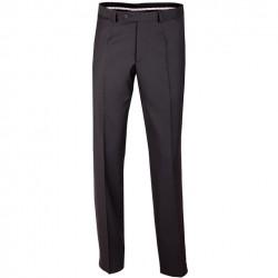 Nadměrné pánské černé společenské kalhoty na výšku 176 – 182 cm Assante 60501