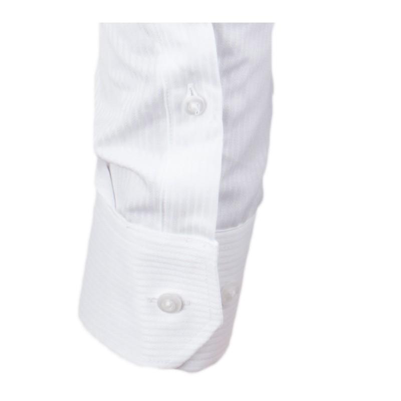 437205e294a ... Bílá pánská košile slim fit XS Assante 30004 ...