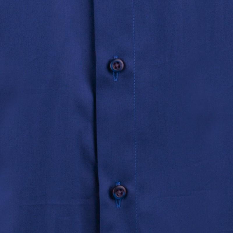 155b0929350 ... Švestkově modrá pánská košile slim 100% bavlna non iron Assante 30487  ...