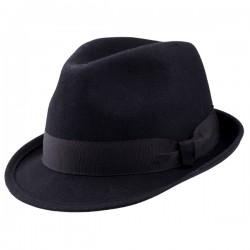 Černý pánský klobouk Assante 85010