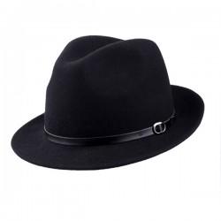 Černý pánský klobouk Anytra 85041
