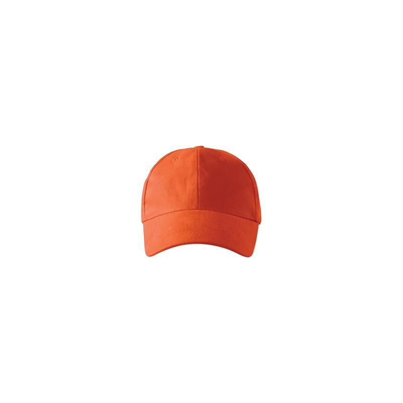 81f705681f6 Oranžová baseballová kšiltovka 100 % bavlna Adler 81173