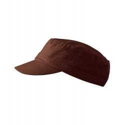 Čokoládová čepice vojenského stylu Adler 81179