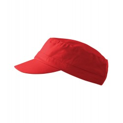 Červená čepice vojenského stylu Adler 81180