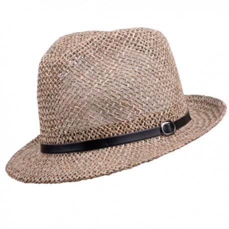 4770d5e98 Béžový malý pánský slaměný klobouk Assante 80002
