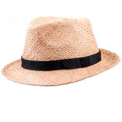 Béžový pánský slaměný klobouk Assante 80005