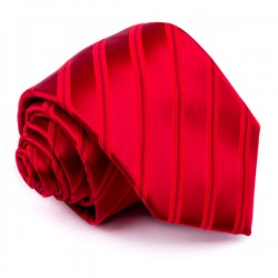 Ohnivě červená kravata Greg 93001