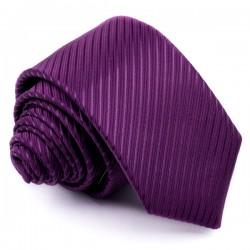 Slim kravata fialová Greg 96002