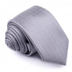 Šedá kravata Greg 91002