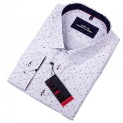 Nadměrná pánská košile bílá Native 120512