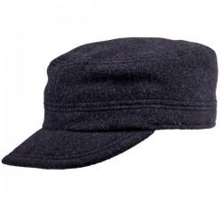 Pánská zimní čepice fidelka černá s naušníky Assante 0853/13