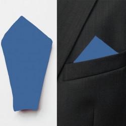 Modrý pánský kapesník do saka Assante 90635