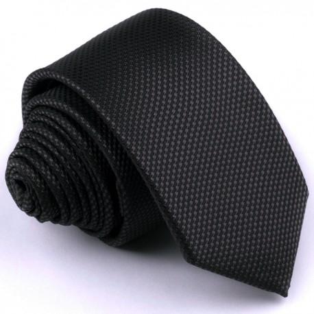 Černá kravata Rene Chagal 91015