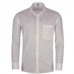 Pánská košile slim fit šedá Assante 30105