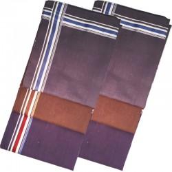 Pánské kapesníky hnědé modré šedé balení Etex 90602