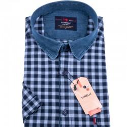 Modrá košile Tonelli 110838