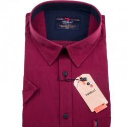 Červená košile Tonelli 110839