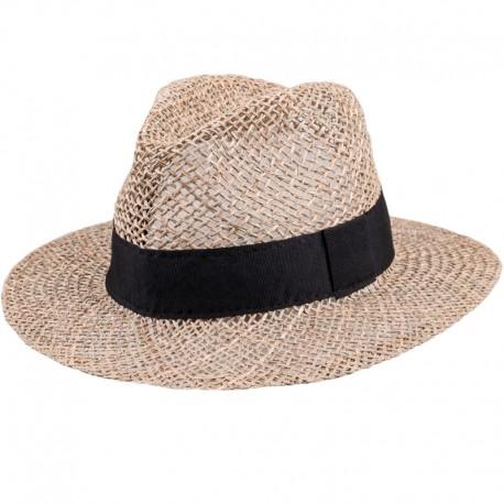 Slaměný klobouk béžový Assante 80008