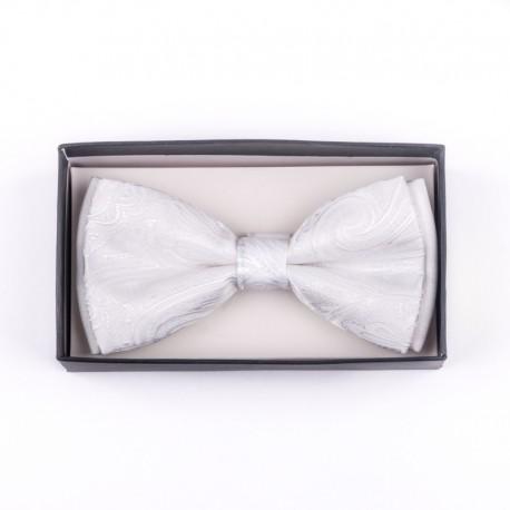 Pánský motýlek barva bílá Assante 90396