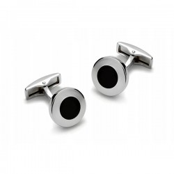 Manžetové knoflíčky stříbrné barvy Assante 90512