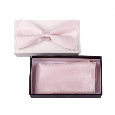 Pánský motýlek barva růžová Assante 90334